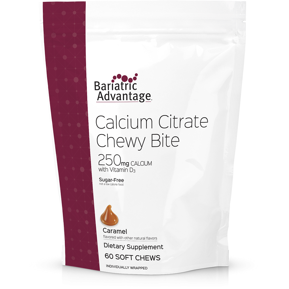 Bariatric Advantage Calcium Chewy Bites 250mg